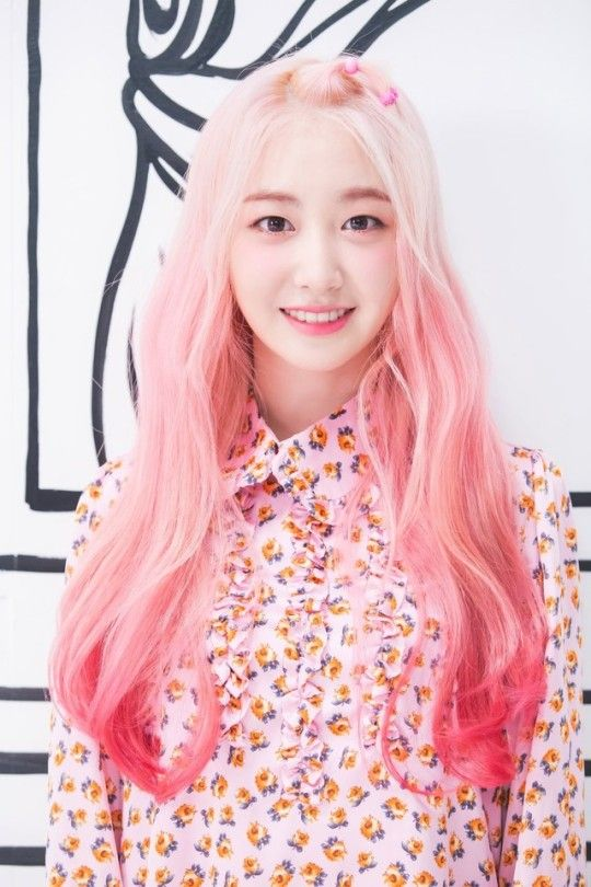Elris Global Fanbase Pink Hair Kpop Girls Hair Day