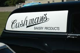 Cushman's Bakery truck came around our neighborhood at least once a week.  We got all our bread from there.  But their potato chips were the best!