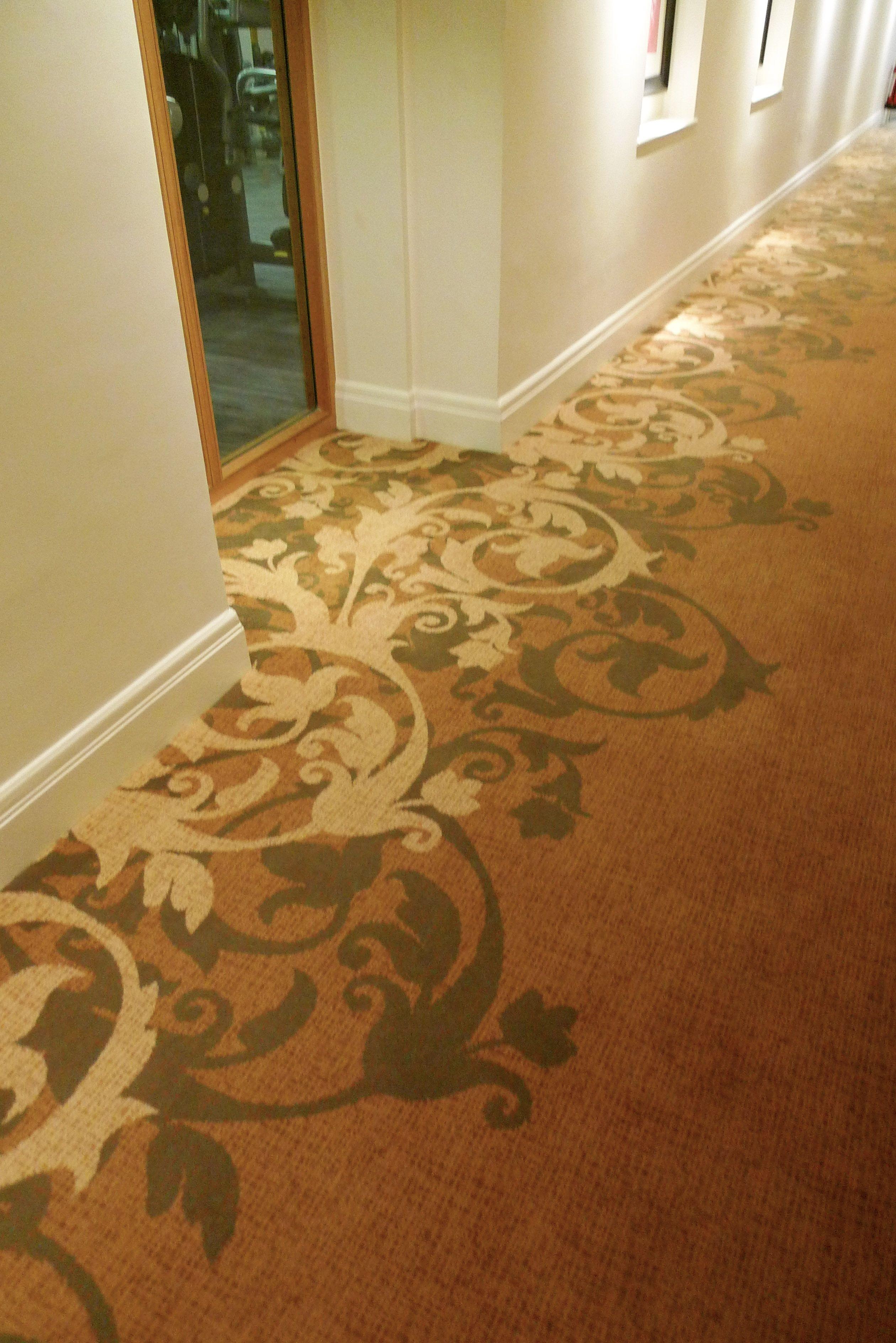 Axminster Carpet Bespoke Carpet Champneys Tring Spa Design