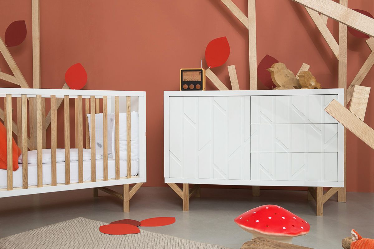 Natalys Chambre Forest On Behance Home Decor Toddler Bed Room