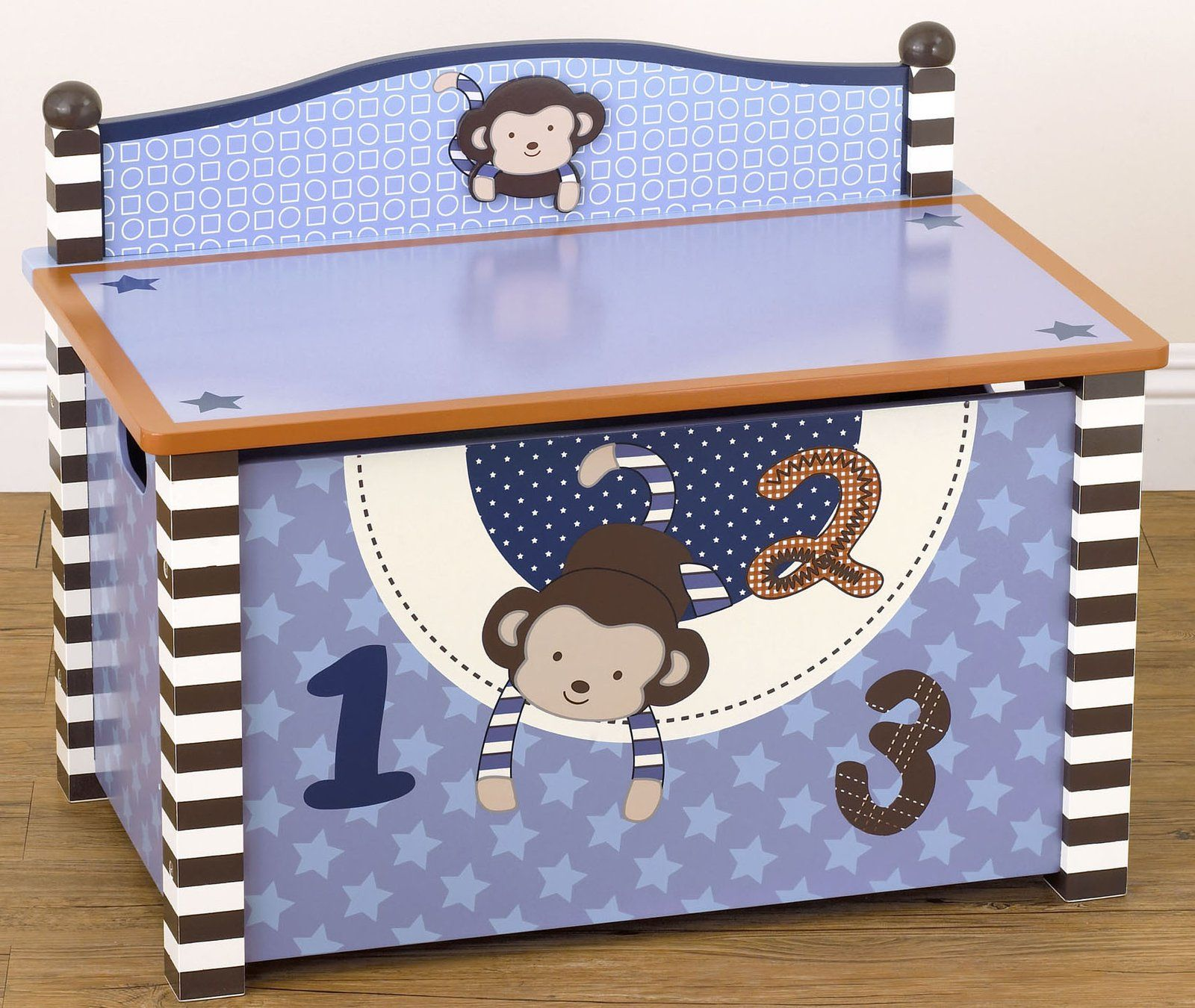 Toy Box Baby Toy Box Toy Boxes Monkey Decorations