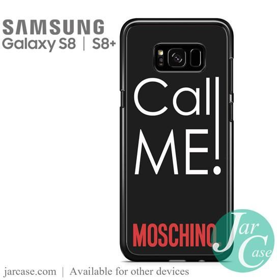 low priced 2f42d accd5 Call Me Moschino Phone Case for Samsung Galaxy S8 | S8 Plus | cool case