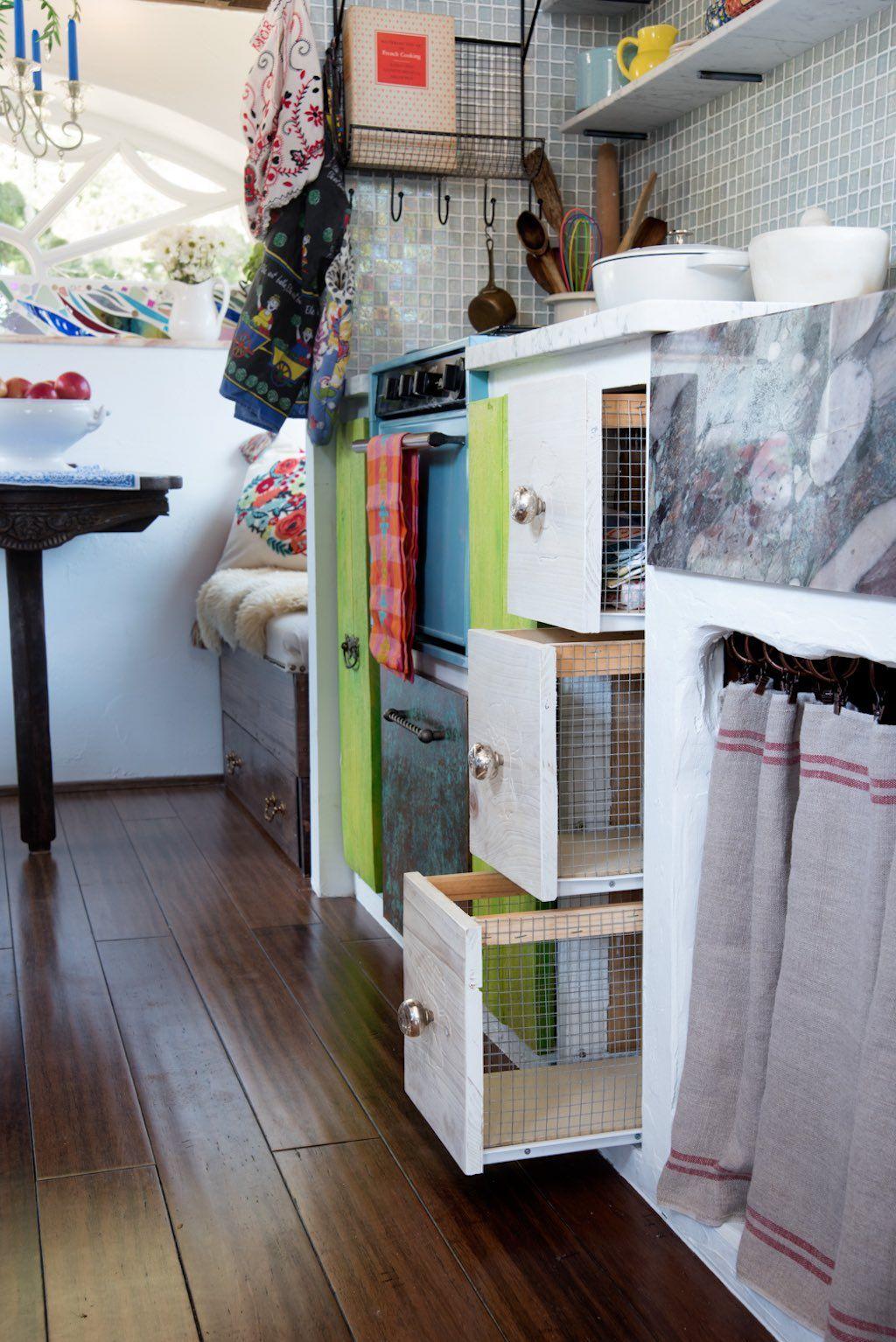 The Gypsy Mermaid \u2013 Tiny House Swoon   work home on wheels ...