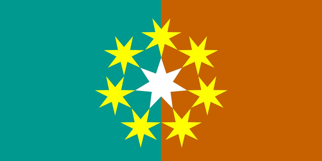 New Australian Flag design #UluruSky - #7Sisters #FelixAustralis ...