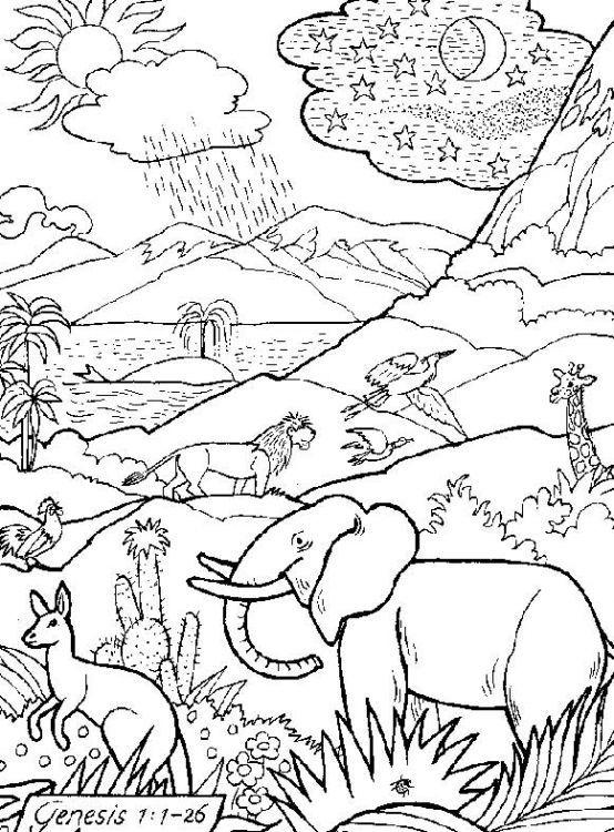 Dibujos Cristianos Para Colorear marzo 2012  Escuela Dominical