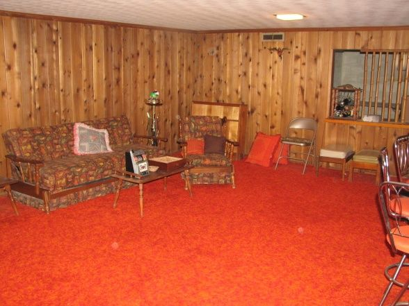 In 60s And 70s Having A Finished Basement Meant Having Low