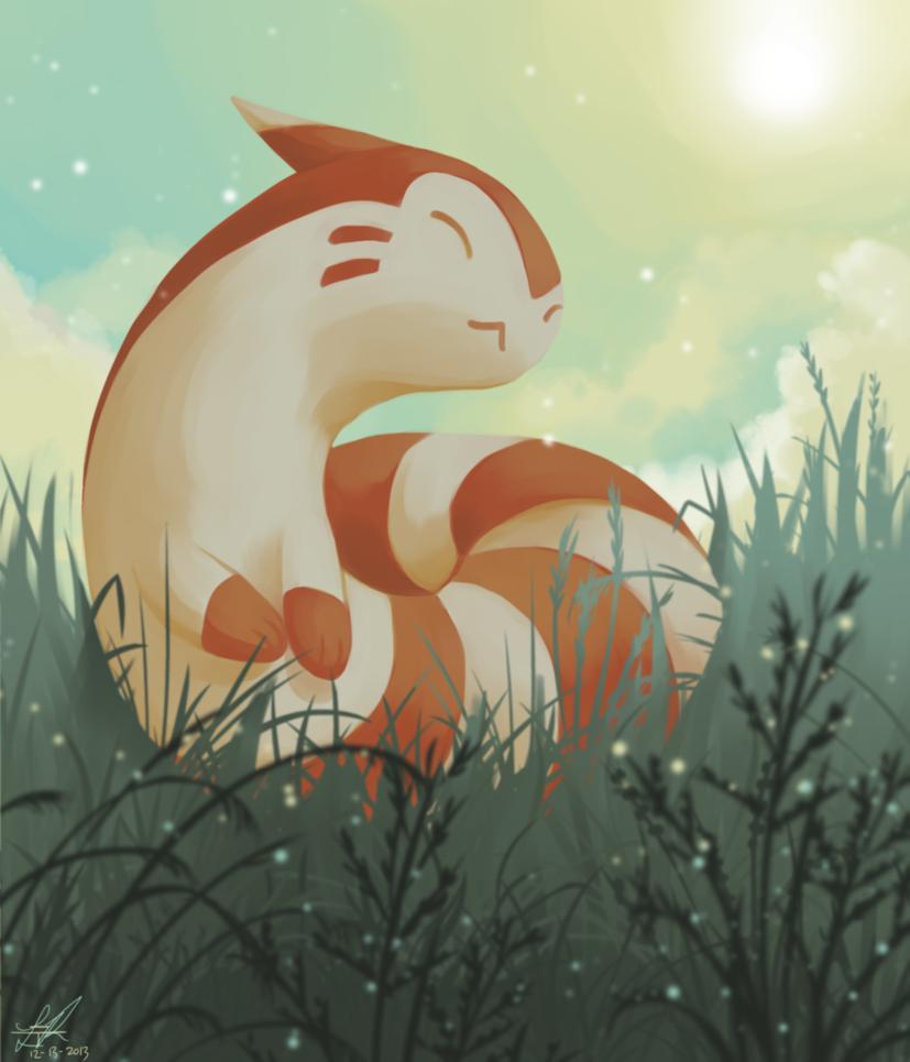 Day13 Normal Furret By Rock Bomber On Deviantart Pokemon Pokemon Drawings Pokemon Art