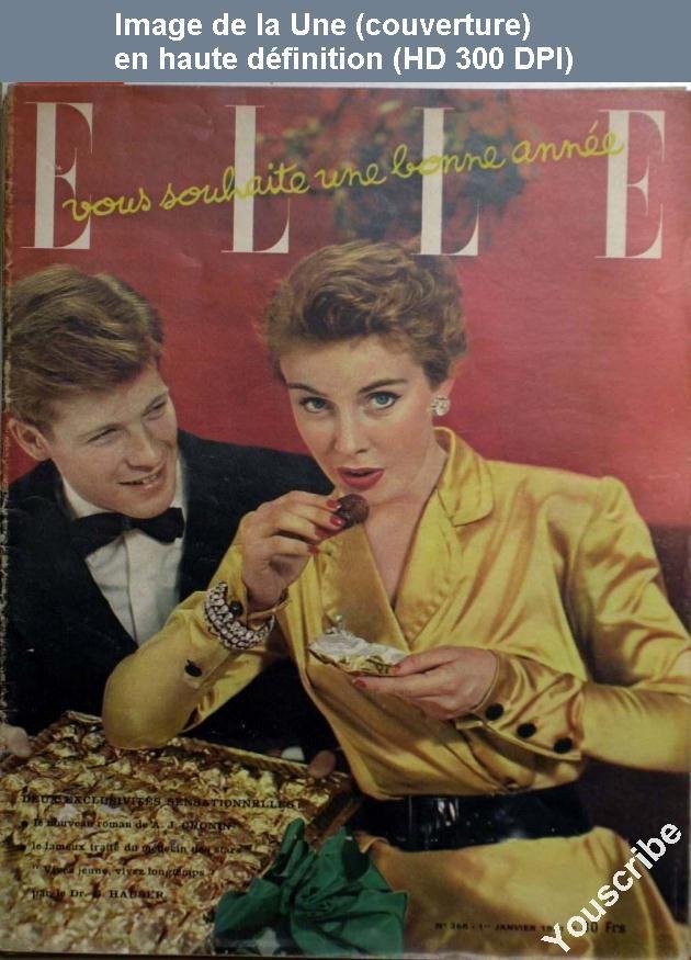 ELLE N° 266, 01 janvier 1951