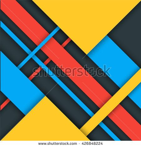 Material Design Background Modern Colorful Vector Background