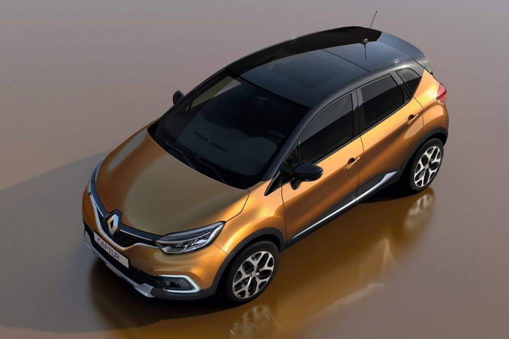 Renault Captur With Glass Roof To Debut In Geneva Gims