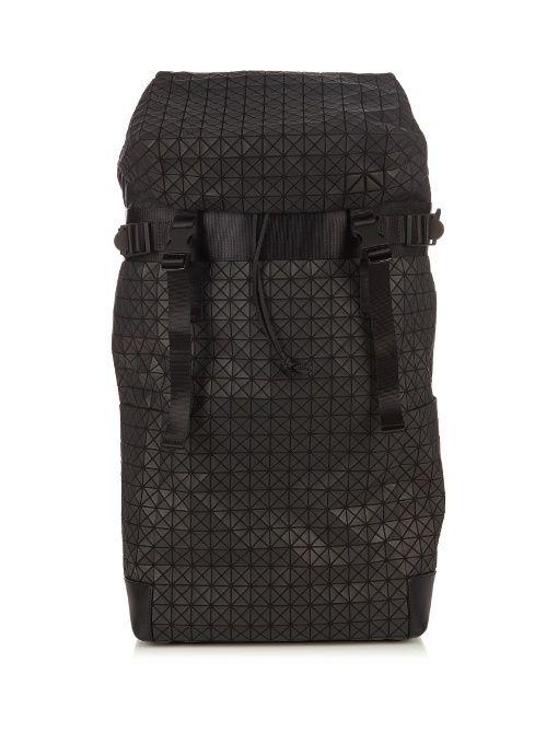 BAO BAO ISSEY MIYAKE Triangular panels large backpack.  baobaoisseymiyake   bags  canvas  leather  lining  pvc  nylon  backpacks   cd24a087301de