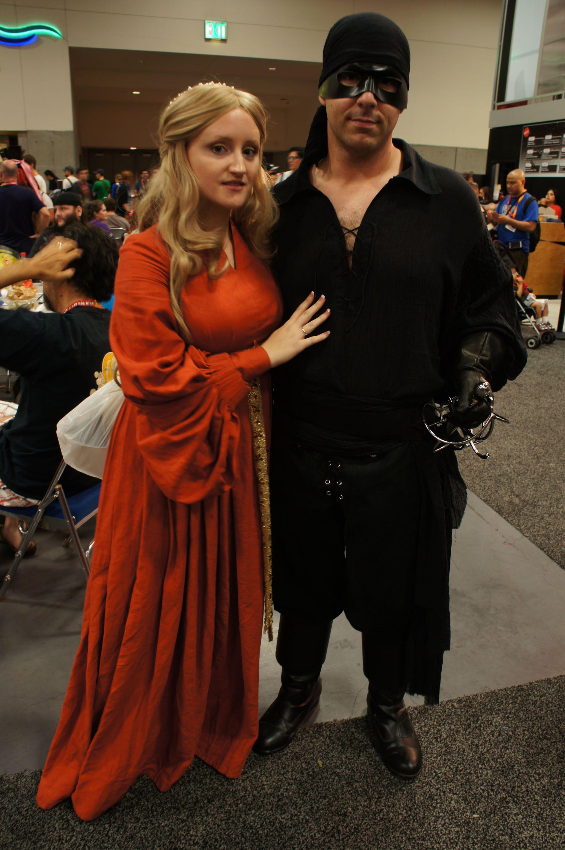 Princess Bride cosplay. Wesley wearing Dread Pirate ...