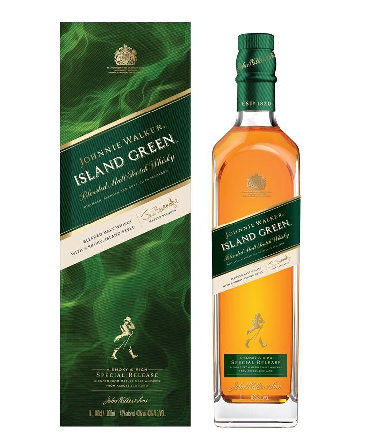 Johnnie Walker Island Green Whisky Review Johnnie Walker Whisky