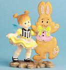 ? New KITCHEN FAIRY Figurine EASTER BUNNY COOKIE Fairie Statue RABBIT DANCE - Bunny, COOKIE, Dance, EASTER, Fairie, Fairy., Figurine, Kitchen, RABBIT, Statue