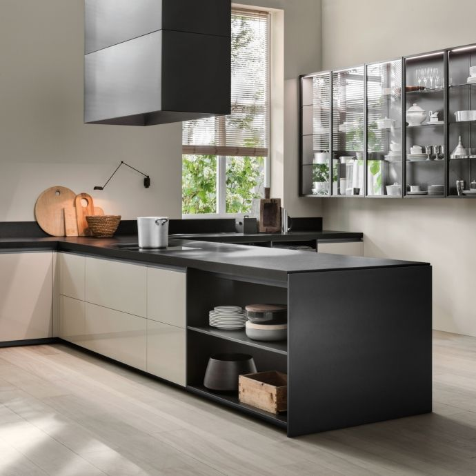 Vvd Italian Modern Kitchen With Island Dada Cucine