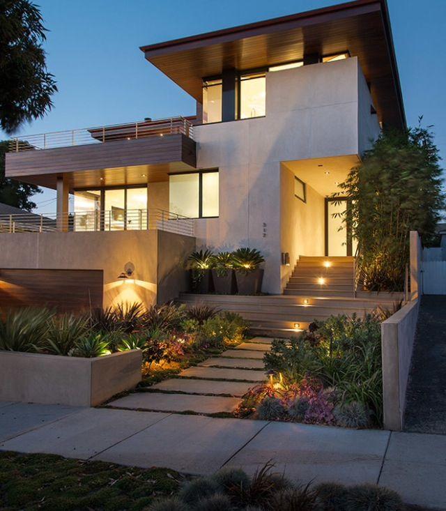 Disenos De Casas En Usa: Arquitectura. Manhattan Beach California. Estados Unidos