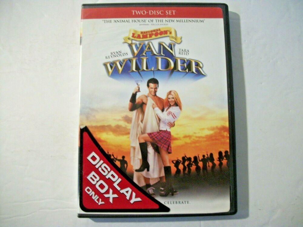 National Lampoons Van Wilder Dvd 2002 2 Disc Set Unrated Version Artisan In 2021 National Lampoons Van Dvd