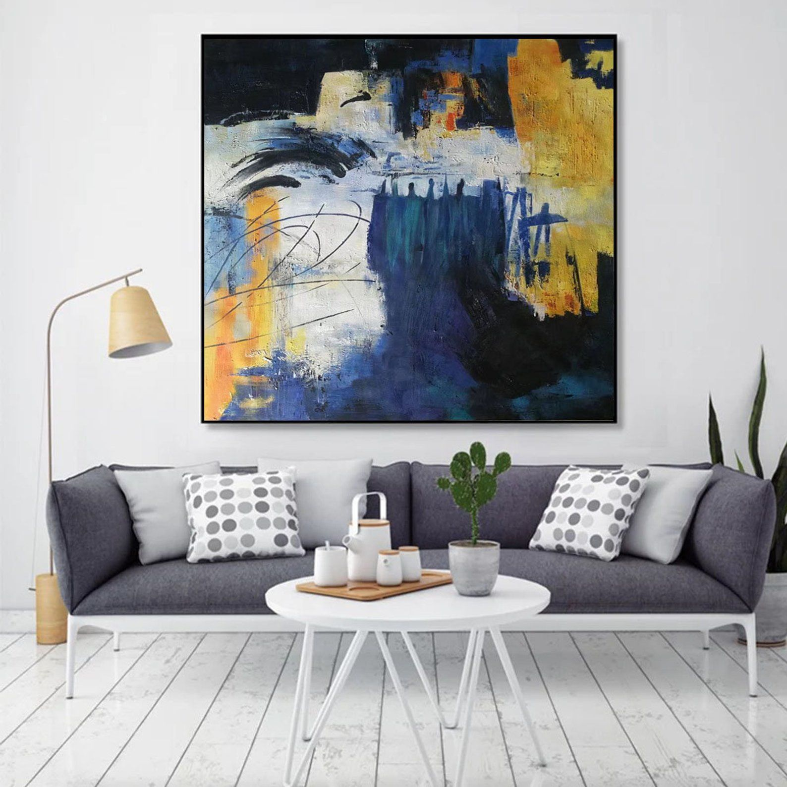 Large Paintings For Sale Large Canvas Art For Living Room Abstract Acrylic Painting Extra Large Artwork On Canvas Massive Wall Art Em81 Large Canvas Wall Art Extra Large Wall Art Living