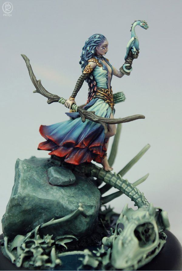 Ar-Fienel, painted by Marike Reimer | gaming minis | Dungeons