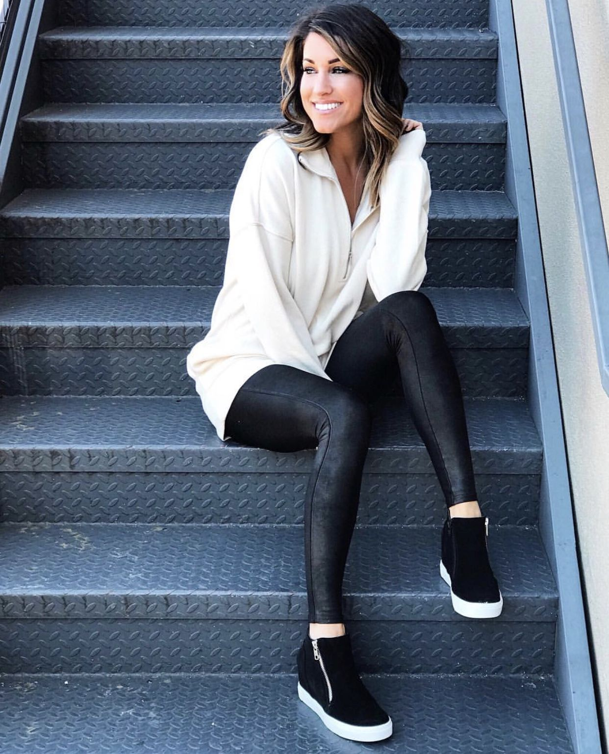 40 Ways to Style Leggings! The Sister Studio