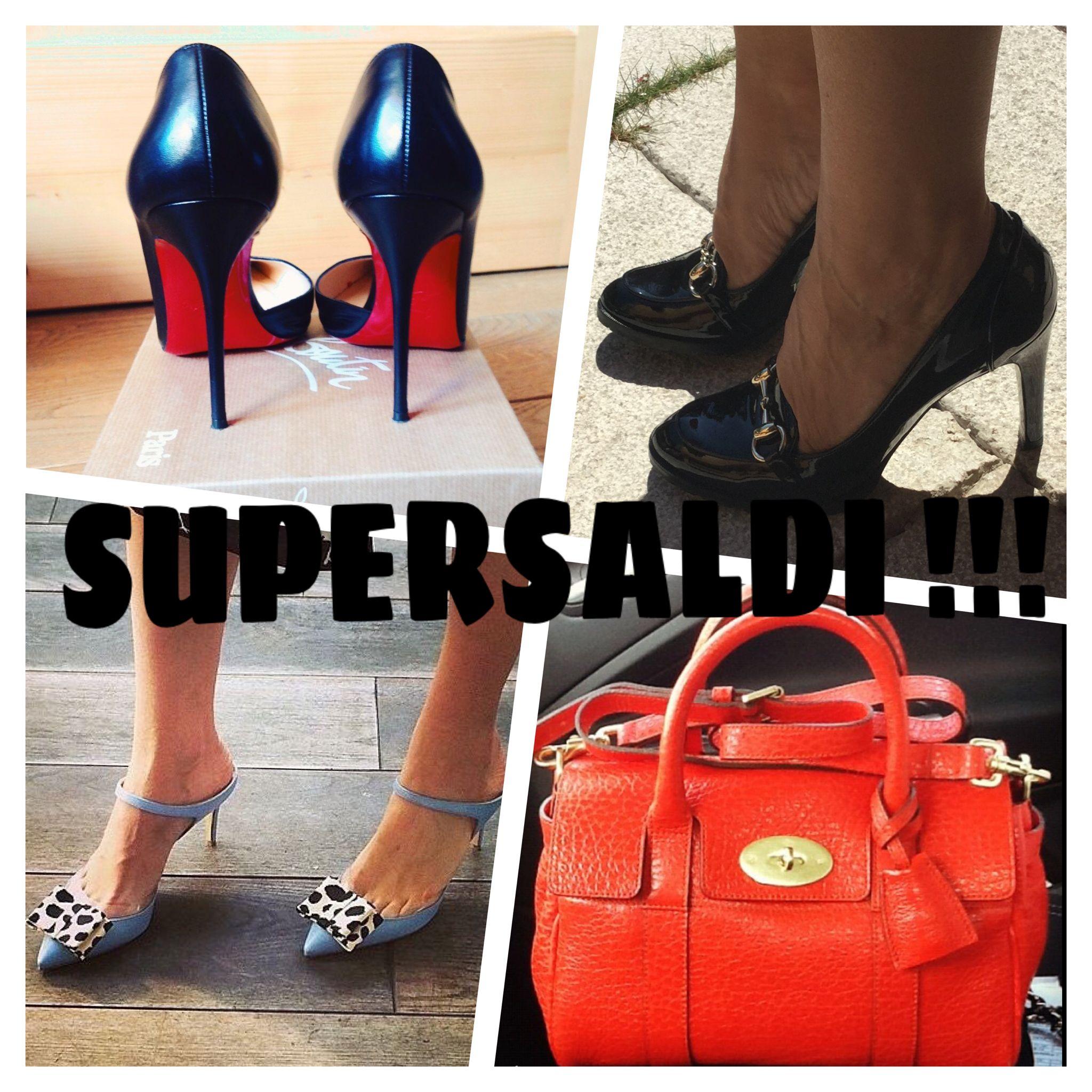 "On my Depop shop ""erixarrietty"" SALES SALES SALES !!! Louboutin, Gucci, Bionda Castana, Mulberry ..."