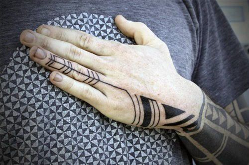 Top 101 Best Hand Tattoos In 2020 Tribal Hand Tattoos Hand Tattoos For Guys Tattoos