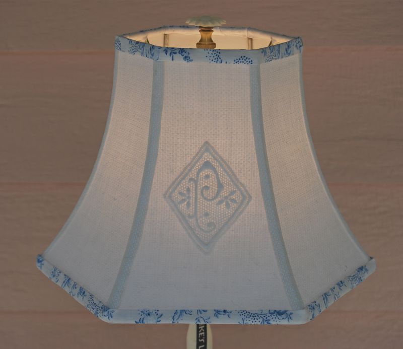 Monogrammed lampshade this is the coolest site home decor monogrammed lampshade this is the coolest site mozeypictures Images