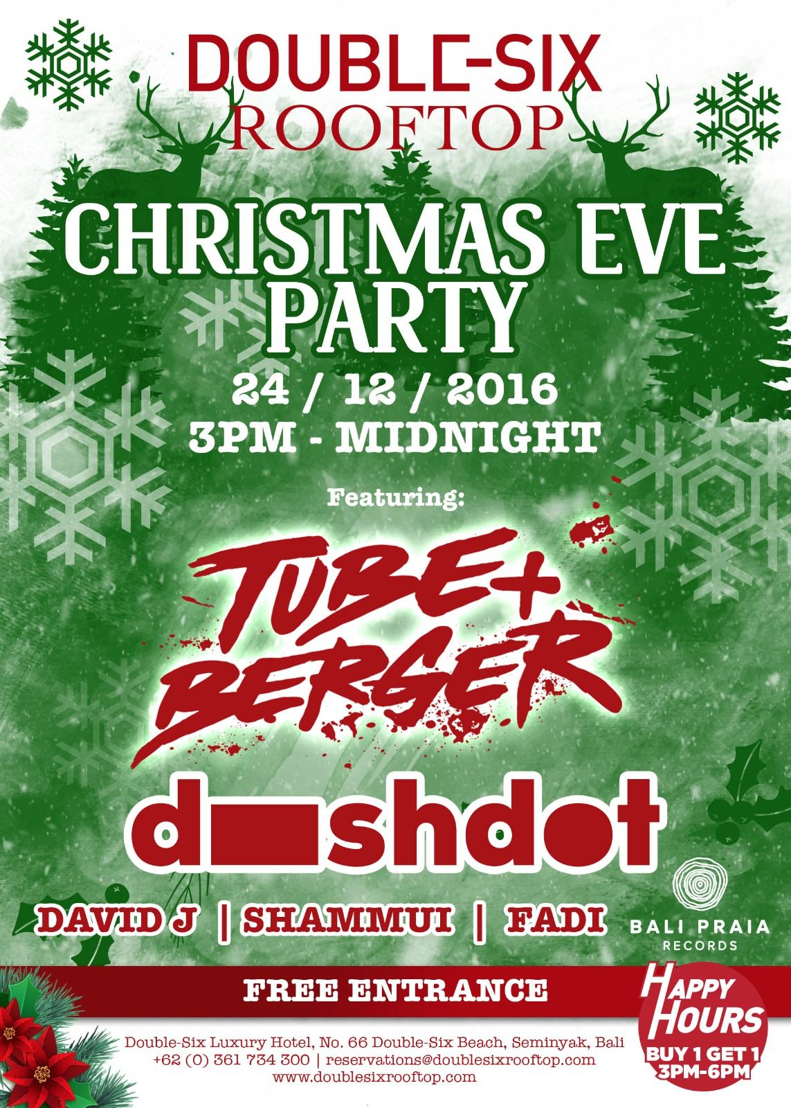 Where To Party On Christmas Eve Check Out Some Of The Coolest Parties Happening In Bali On 24th December In The Link Below And Book Now And For Your Stay In