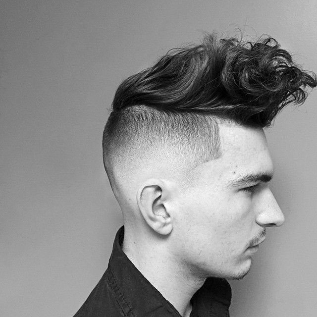 "I always was obsessed with the combo of ""I really care about my hair"" and "" I don't give a fuck"" combining these two creates a masterpiece. This day and age it's the cross between traditional barbering and cosmetology that makes a great haircut. #menstyle #menshair #menshaireducation #mensfashion #barbersinctv #barbershopconnect #americansalon #modernsalon #btcpics #hairbrained #undercut"