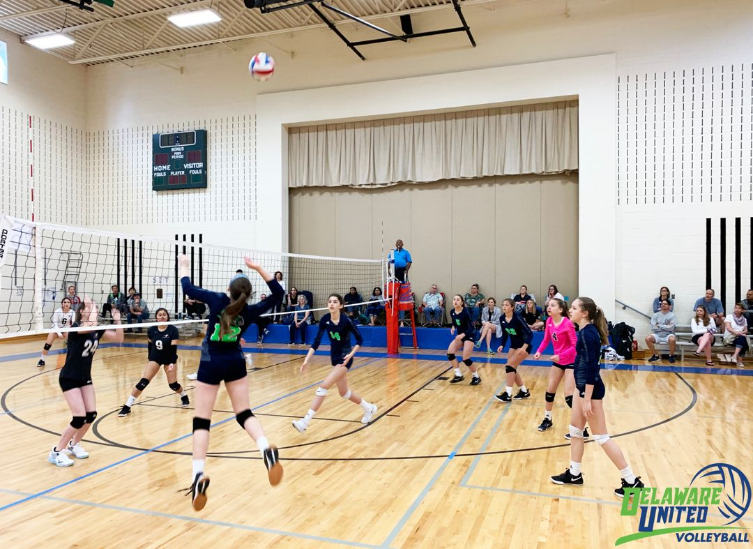 At Delaware United Volleyball Club We Teach Our Players To Focus On Getting Better Not Just Looking Good Learn More Usa Volleyball Volleyball Clubs Volleyball