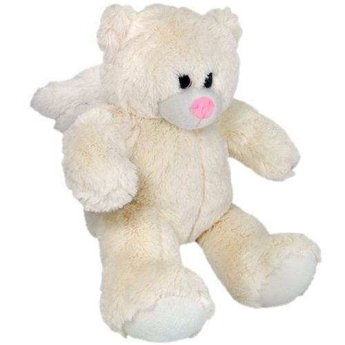 Plush Angel Bear Cremation Urn Keepsake Recordable Message Cutz