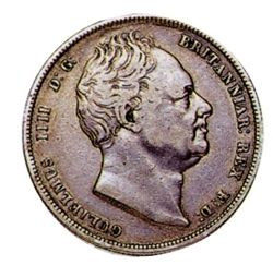 William IV Half Crown King of England, Ireland and Hanover