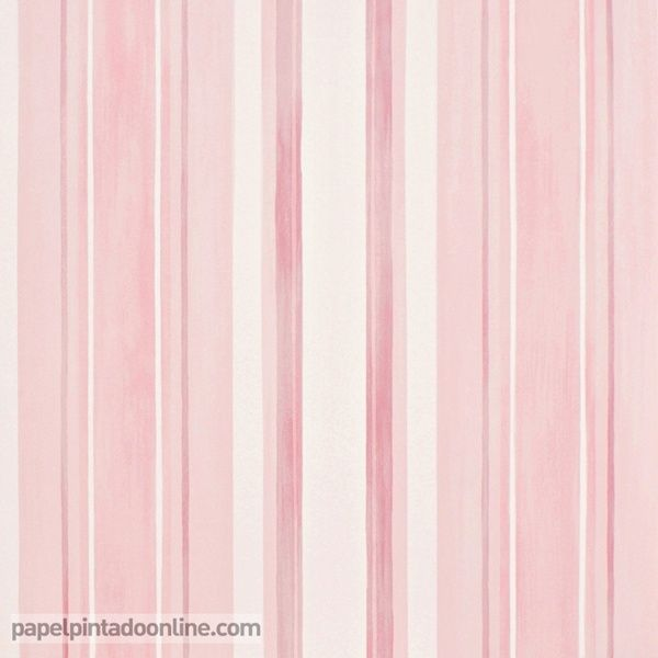 Papel pintado babies 10142 papel pintado infantil bebe - Papel pintado de rayas verticales ...