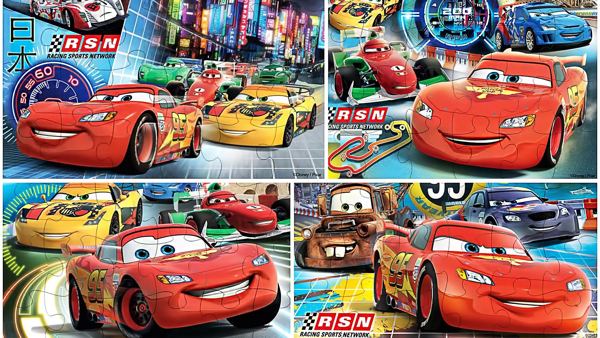 Puzzle App Cars 2 Lightning Mcqueen Cars Puzzles For Toddlers Puzzles For Toddlers Lightning Mcqueen Toddler