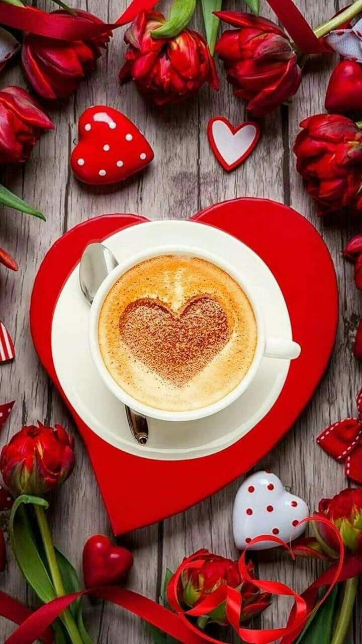 Картинки доброе утро любимый сердечки