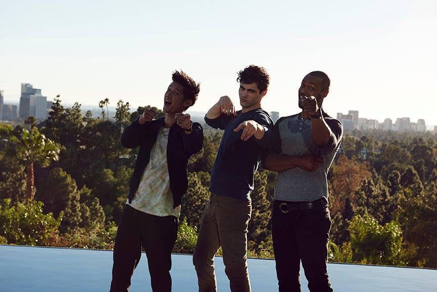 Matt with Harry & Isaiah