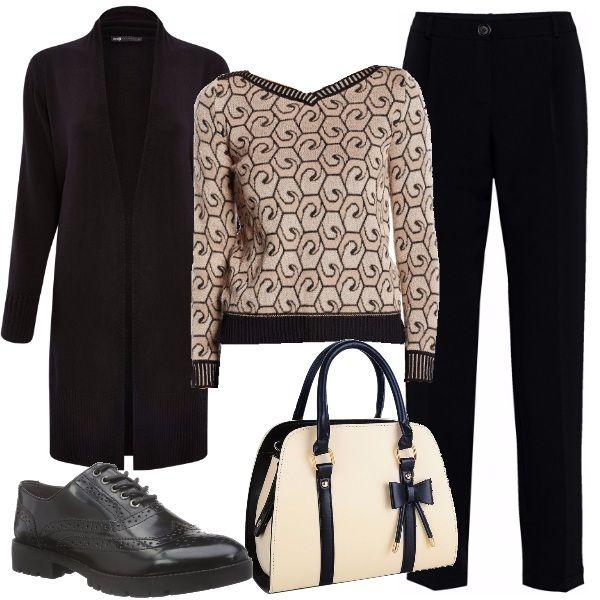 Outfit minimal per donne di classe e bon ton che amano indossare semplici  capi ma con a68cc35c96e