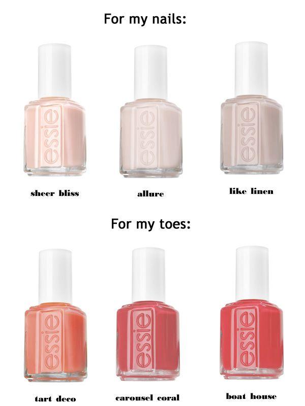 Mani. Pedi. Essie. | Cute Nail Designs | Pinterest | Esmalte ...