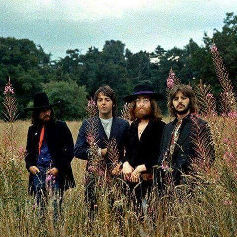 Rock on!  John and Yoko's Ascot home 1969