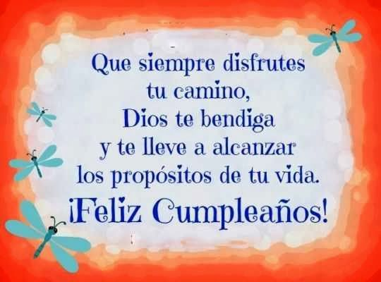 FeLiZ CuMpLeAñOs* on Pinterest | Happy Birthday, Dios and Frases