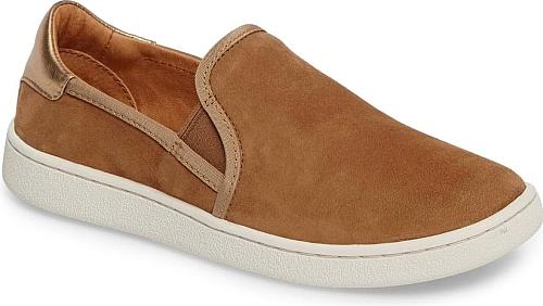 UGGR Women's Shoes in Chestnut Suede