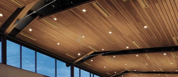 Woodworks Armstrong Acoustics In 2019 Wooden Ceiling