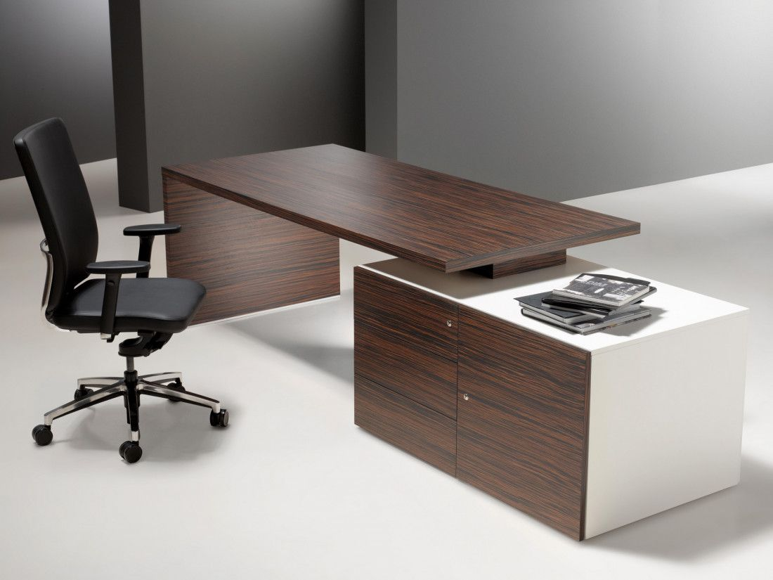 Bureau De Direction Design Blanc Bureau De Direction L Idea Ko Mobilierprofessionnel