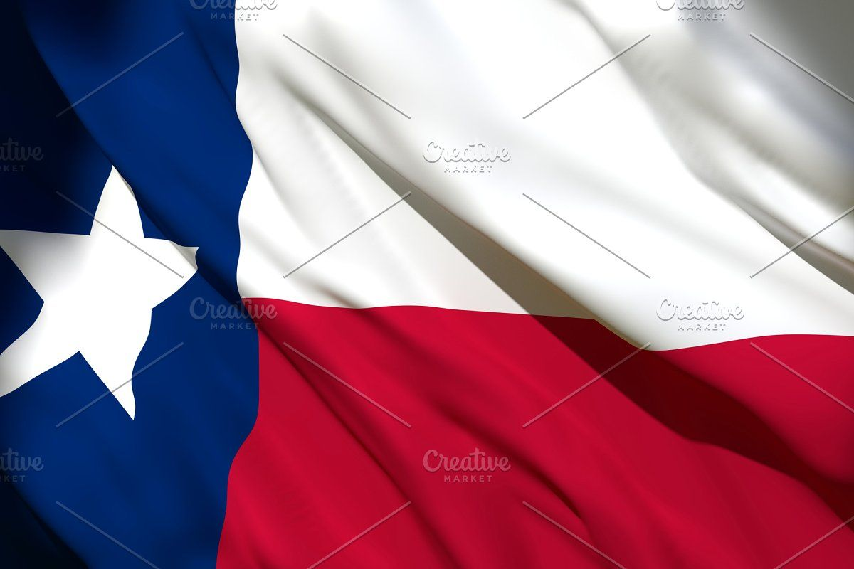 3d Rendering Of Texas State Flag In 2020 Texas State Flag Texas State State Flags