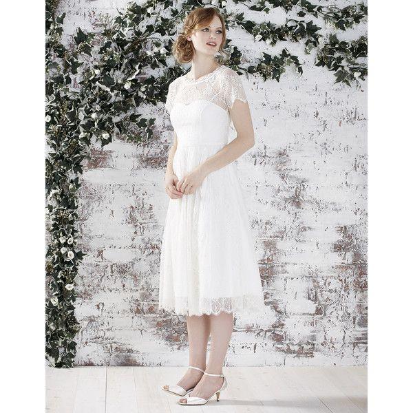 Monsoon Analia Bridal Dress Vintage Style Wedding Dresses Knee Length Wedding Dress Cheap Wedding Dress