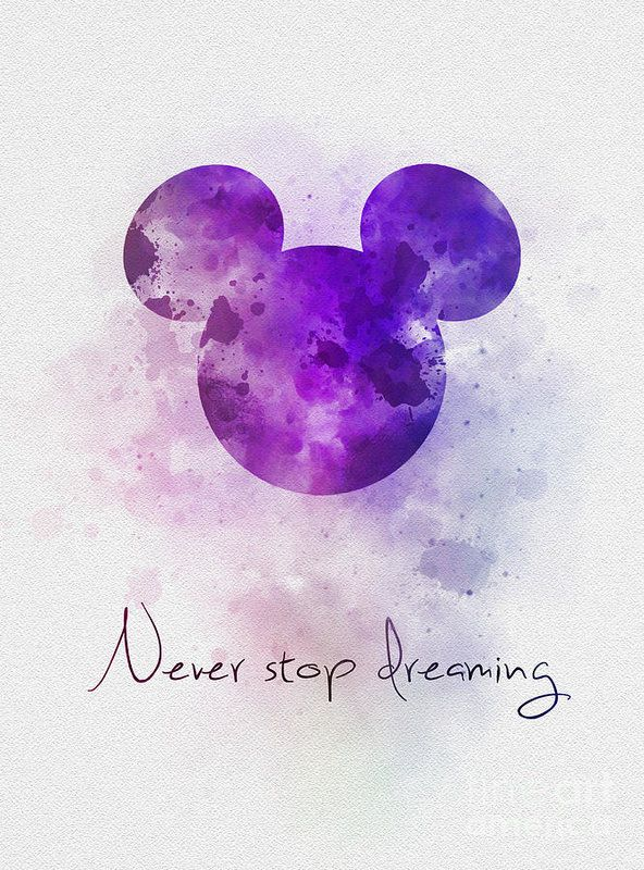 Never Stop Dreaming Art Print by My Inspiration