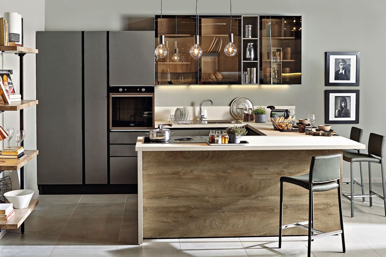 Cucina Panama Nobilitato Quercia Ricci Casa Design Della Cucina Cucine Case
