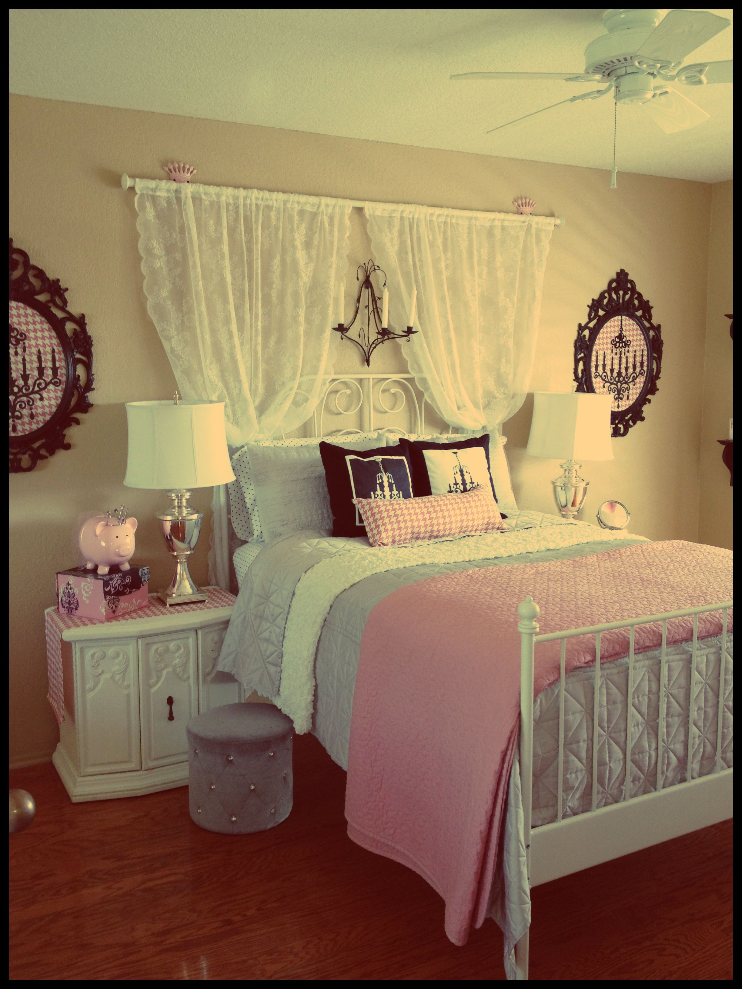 <3 Our daughters room- thus far <3