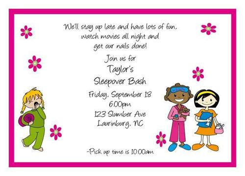 preparing-for-a-slumber-party-with-your-child-13 (500×360, Party invitations