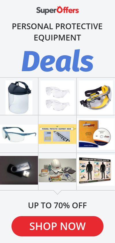 Personal Protective Equipment Top Deals & Lowest Price